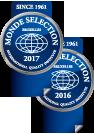 2016年・2017年モンドセレクション受賞